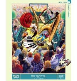 New York Puzzle Co. Feel the Rhythm 1000pc