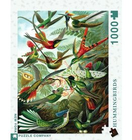 New York Puzzle Co. Hummingbirds 1000pc