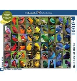 New York Puzzle Co. Rainbow of Birds 1000 pc