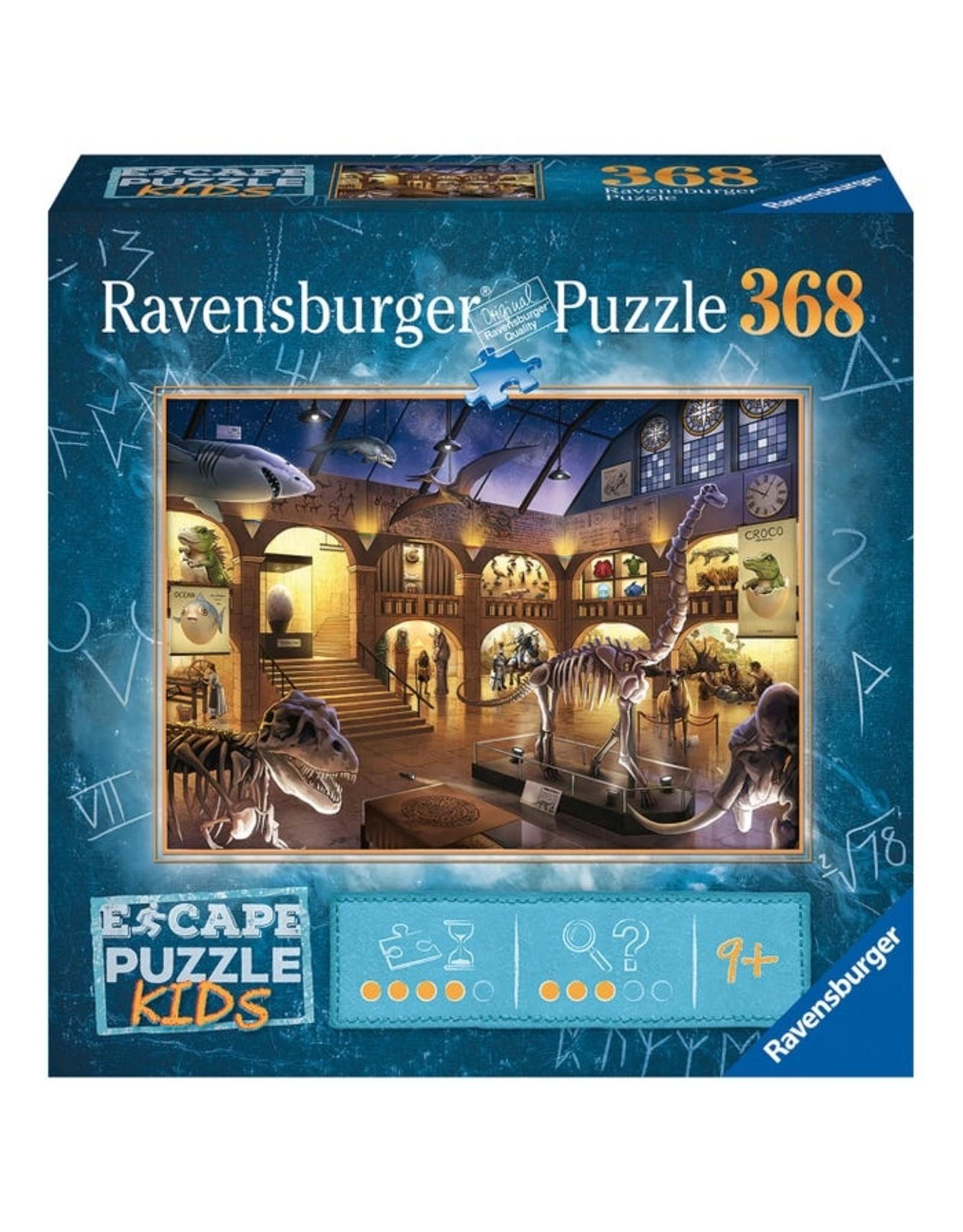Ravensburger ESCAPE KIDS: Museum Mystery 368pc
