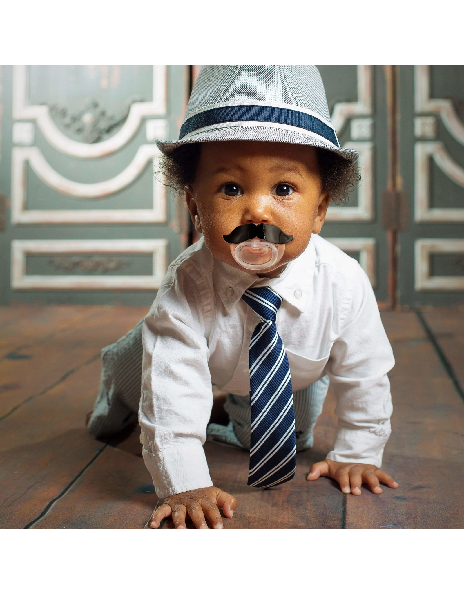 Fred Chill Baby Pacifier - Mustache