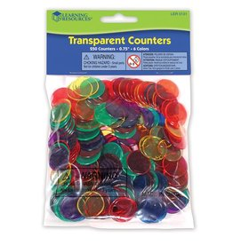 Learning Resources Transparent Counters Set of 250