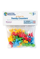 Learning Resources All About Me Family Counters Smart Pack (Set of 24)