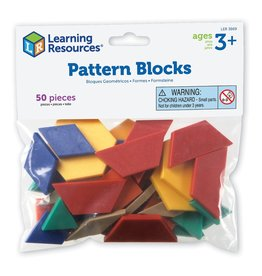 Learning Resources Pattern Blocks Smart Pack (Set of 50)