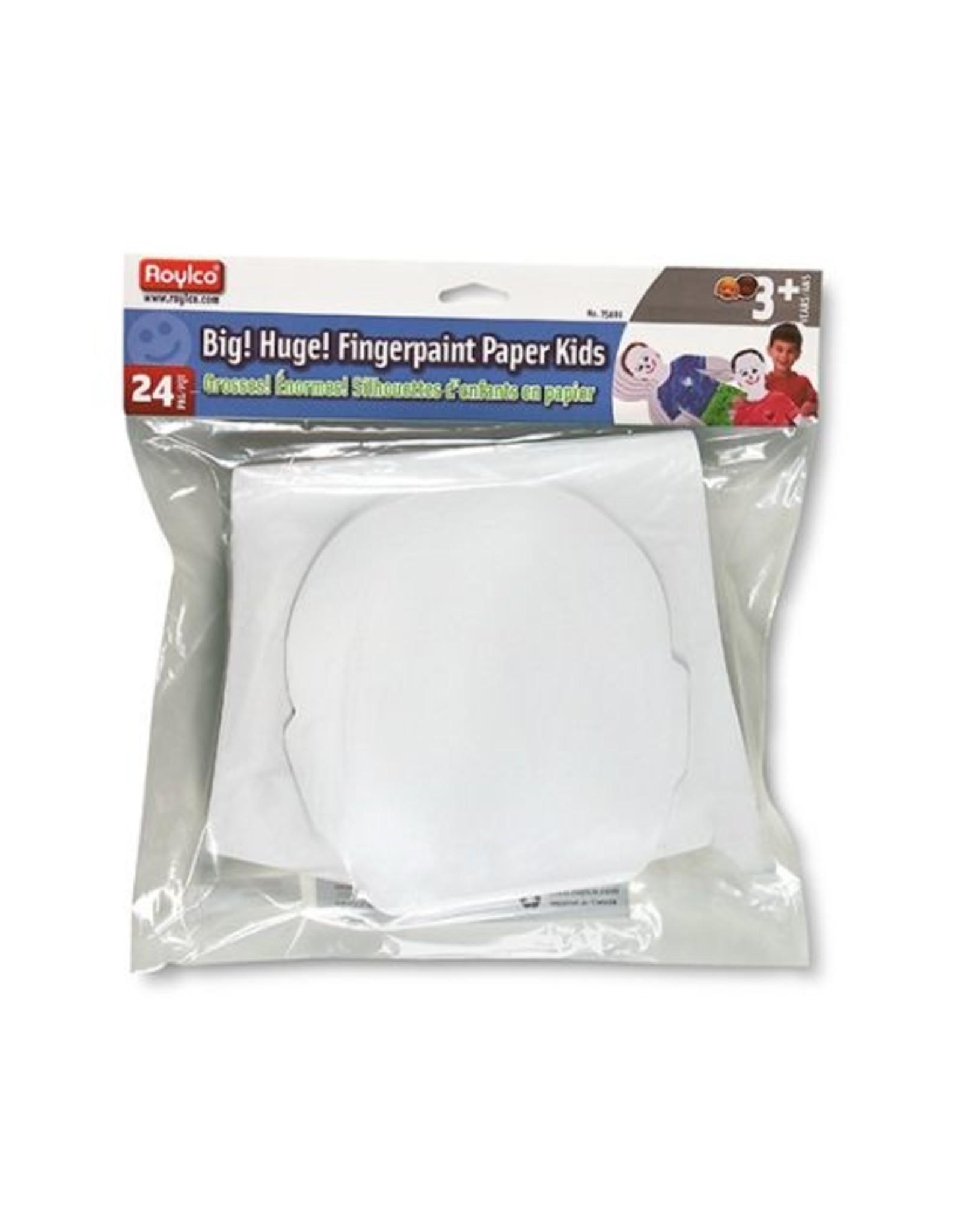 Roylco Big! Huge! Fingerpaint Kids