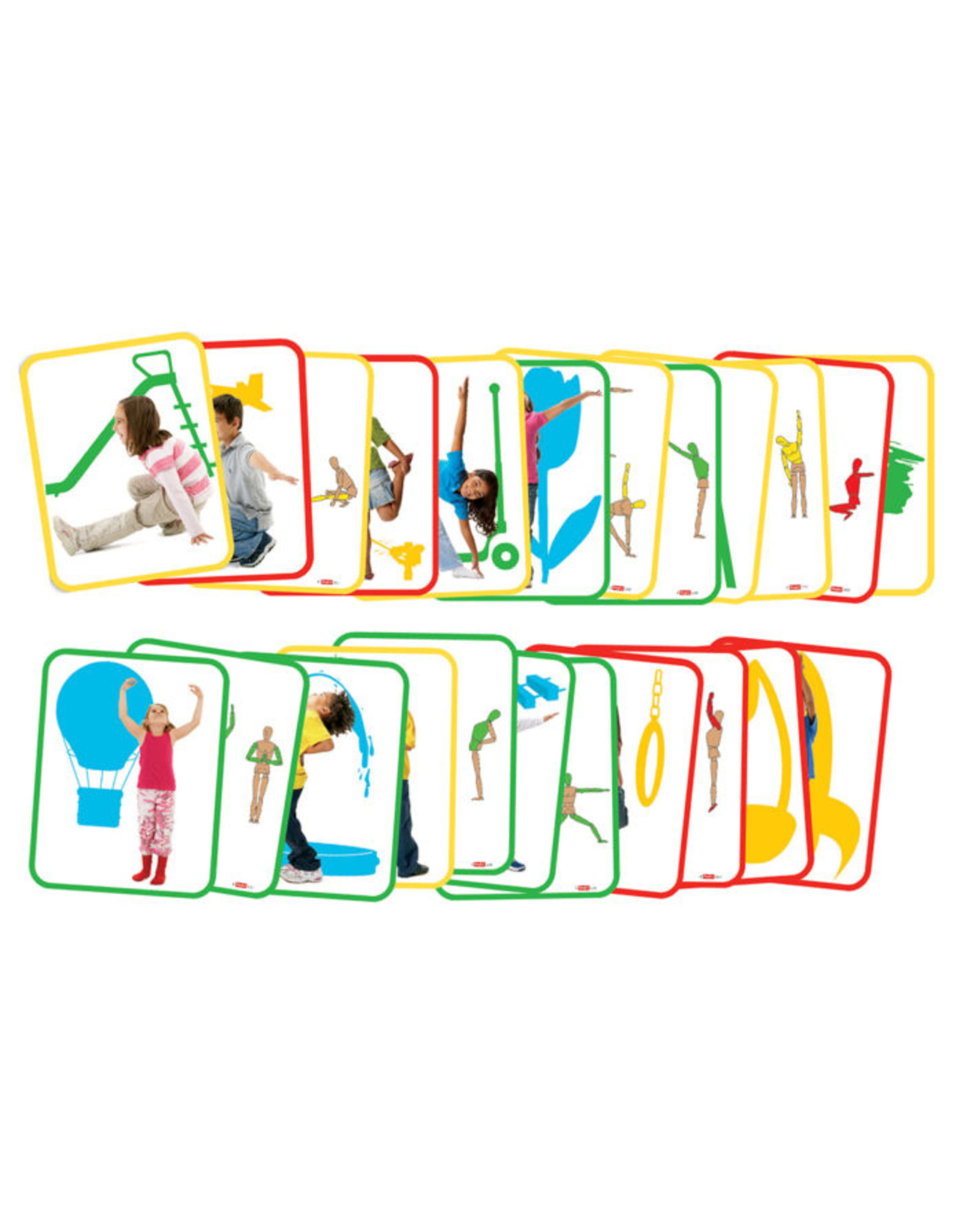 Roylco Body Poetry - Yoga Cards