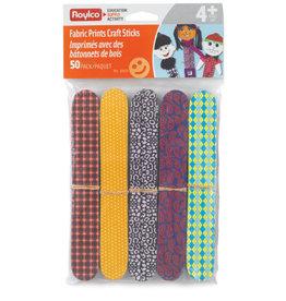 Roylco Fabric Craft Sticks