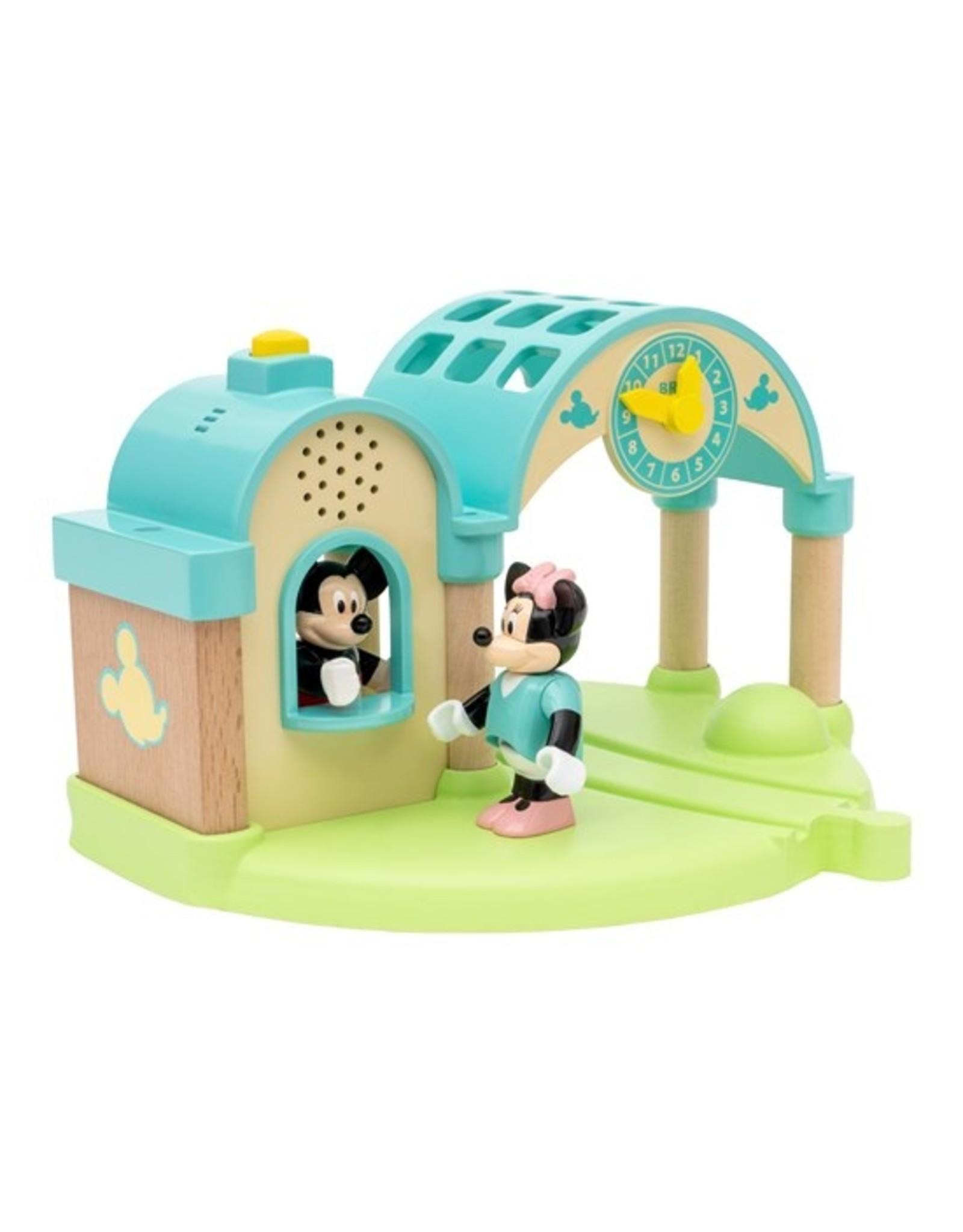 Brio BRIO Mickey Mouse Record & Play Train Station
