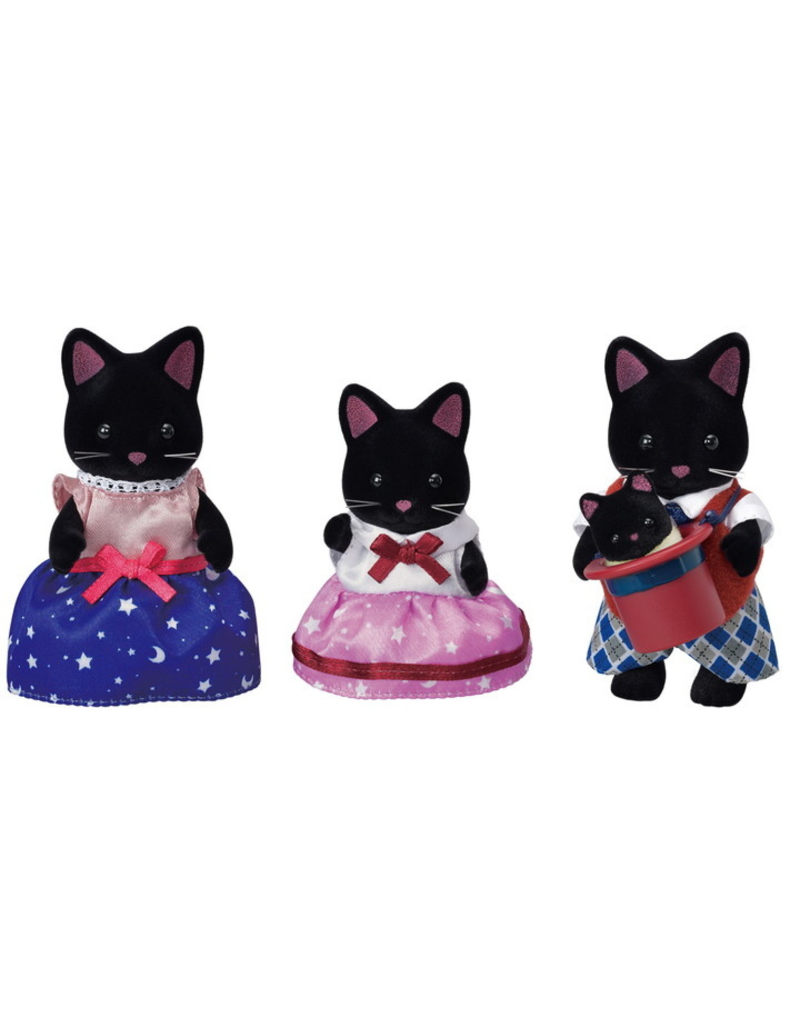 Calico Critters Calico Critters Midnight Cat Family