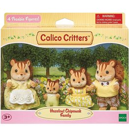 Calico Critters Calico Critters Hazelnut Chipmunk Family