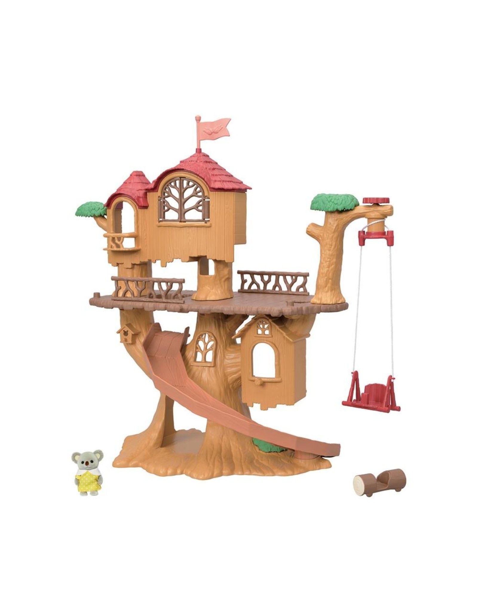 Calico Critters Calico Critters Adventure Tree House Gift Set
