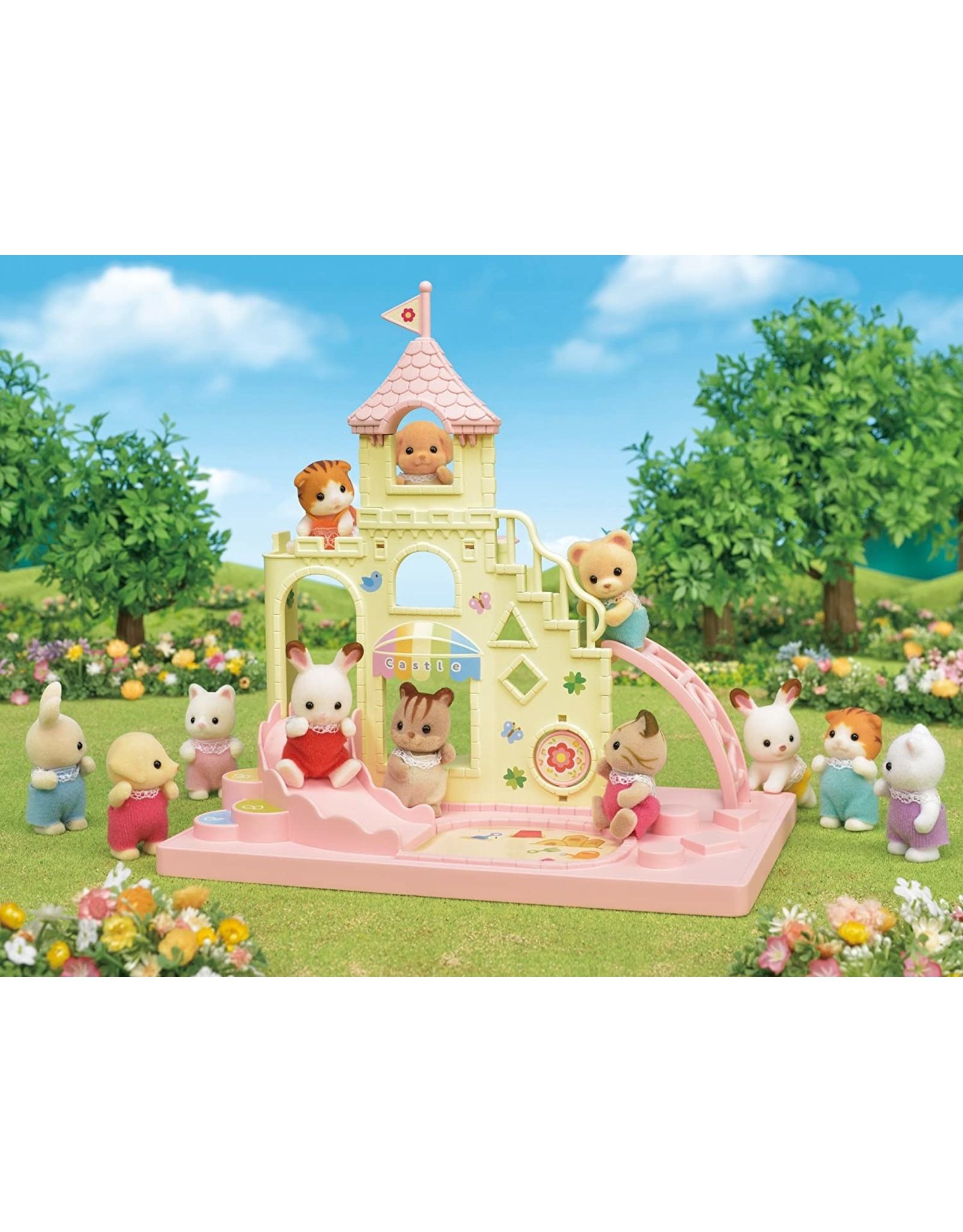 Calico Critters Calico Critters Baby Castle Playground