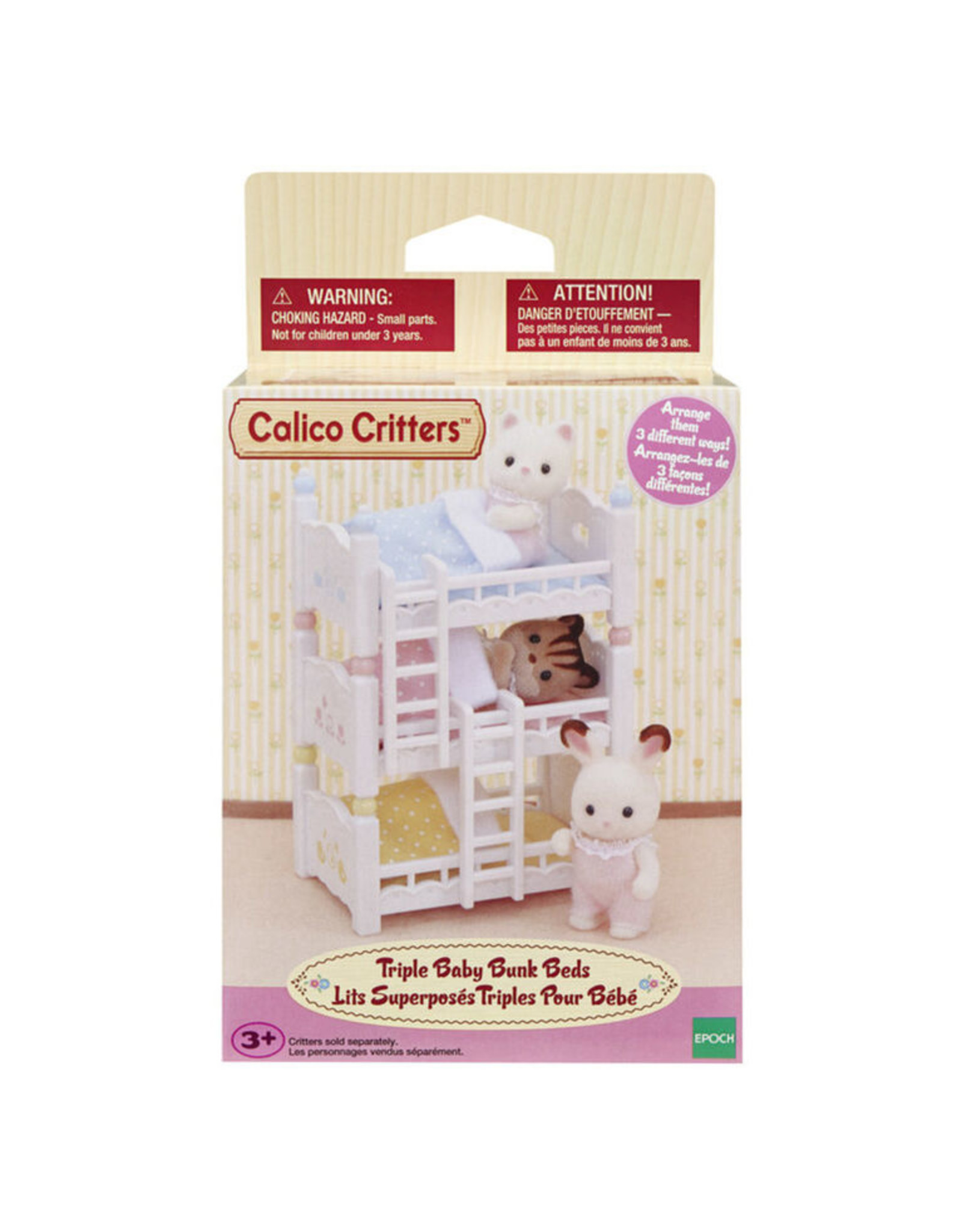 Calico Critters Calico Critters Triple Baby Bunk Beds