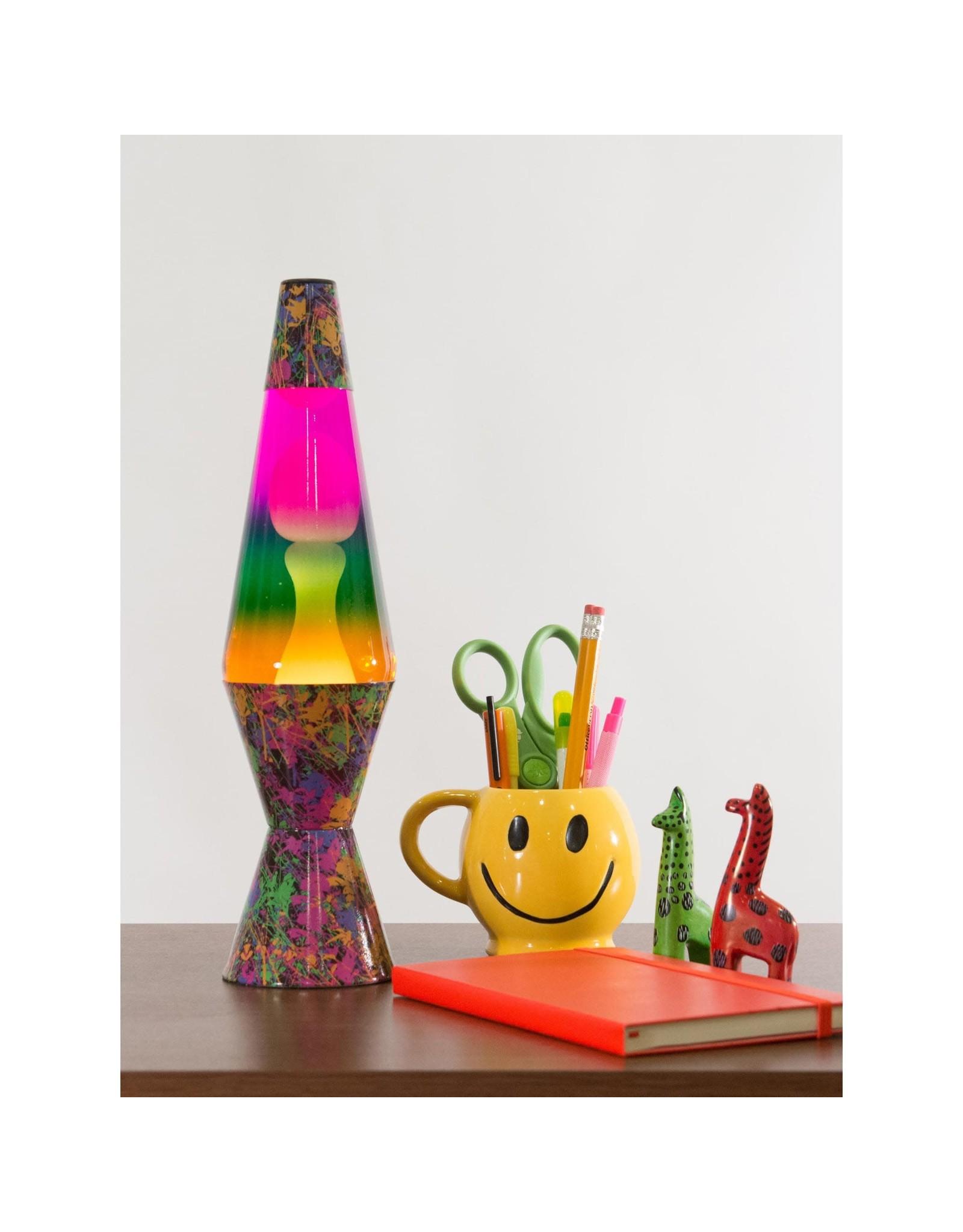 "Lava 14.5"" Lava Lamp Colormax Paintball - White/Tricolor"