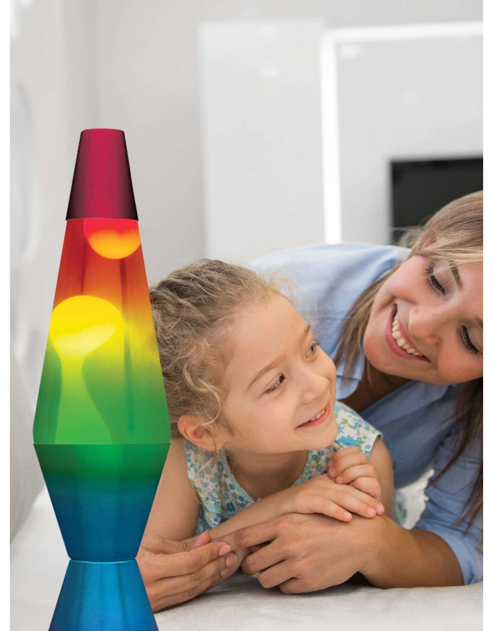 "Lava 14.5"" Lava Lamp - Rainbow"