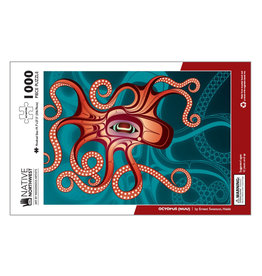 Native Northwest Octopus (Nuu) 1000 pc