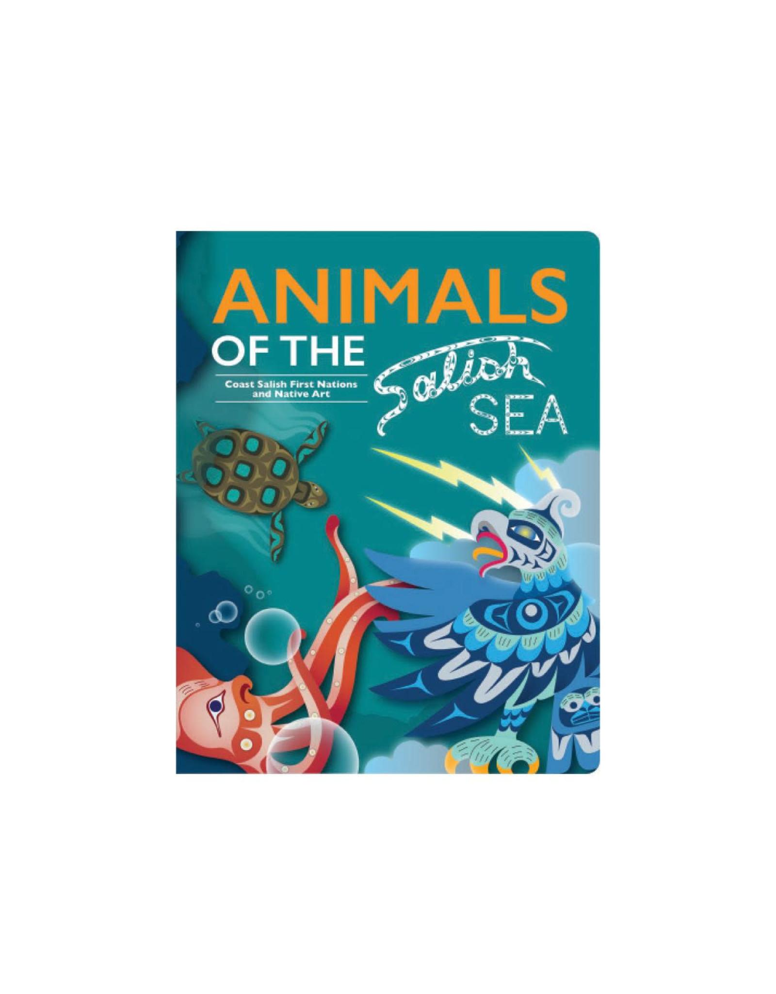 Native Northwest Animals of the Salish Sea Board Book