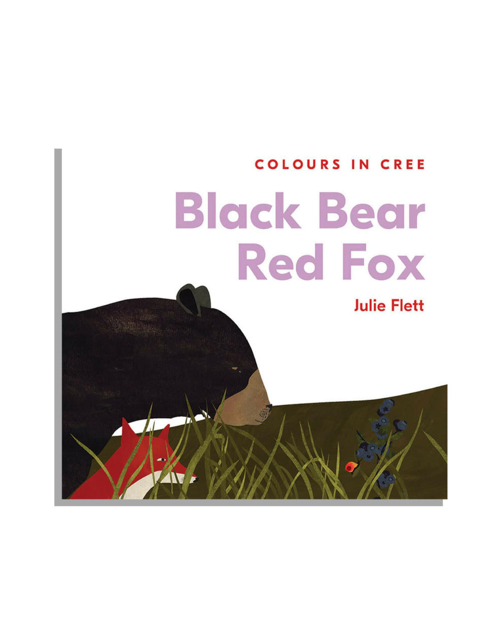 Native Northwest Black Bear Red Fox: Colours in Cree Board Book