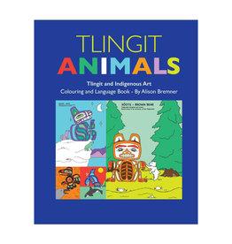 Native Northwest Tlingit Animals Colouring Book