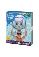 Toysmith Beach Ball Space Cat