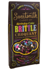 Sweetsmith Candy Co. Birthday Cake Brittle - Chocolate