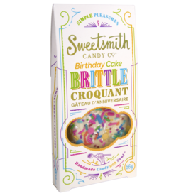 Sweetsmith Candy Co. Birthday Cake Brittle - Vanilla