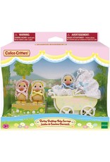 Calico Critters Calico Critters Darling Ducklings Baby Carriage