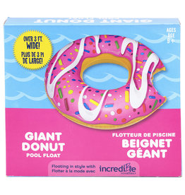 Incredible Novelties Donut Pool Float - Pink