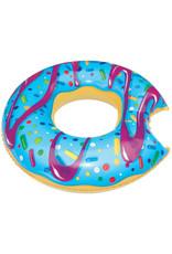 Incredible Novelties Donut Pool Float - Blue