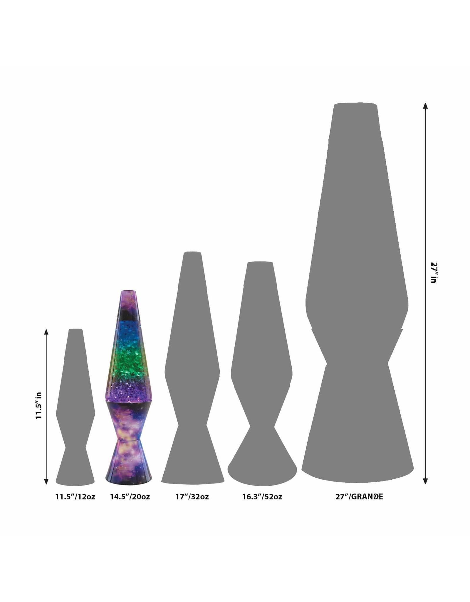 """Lava 14.5"""" Lava Lamp Colormax - Galaxy"""