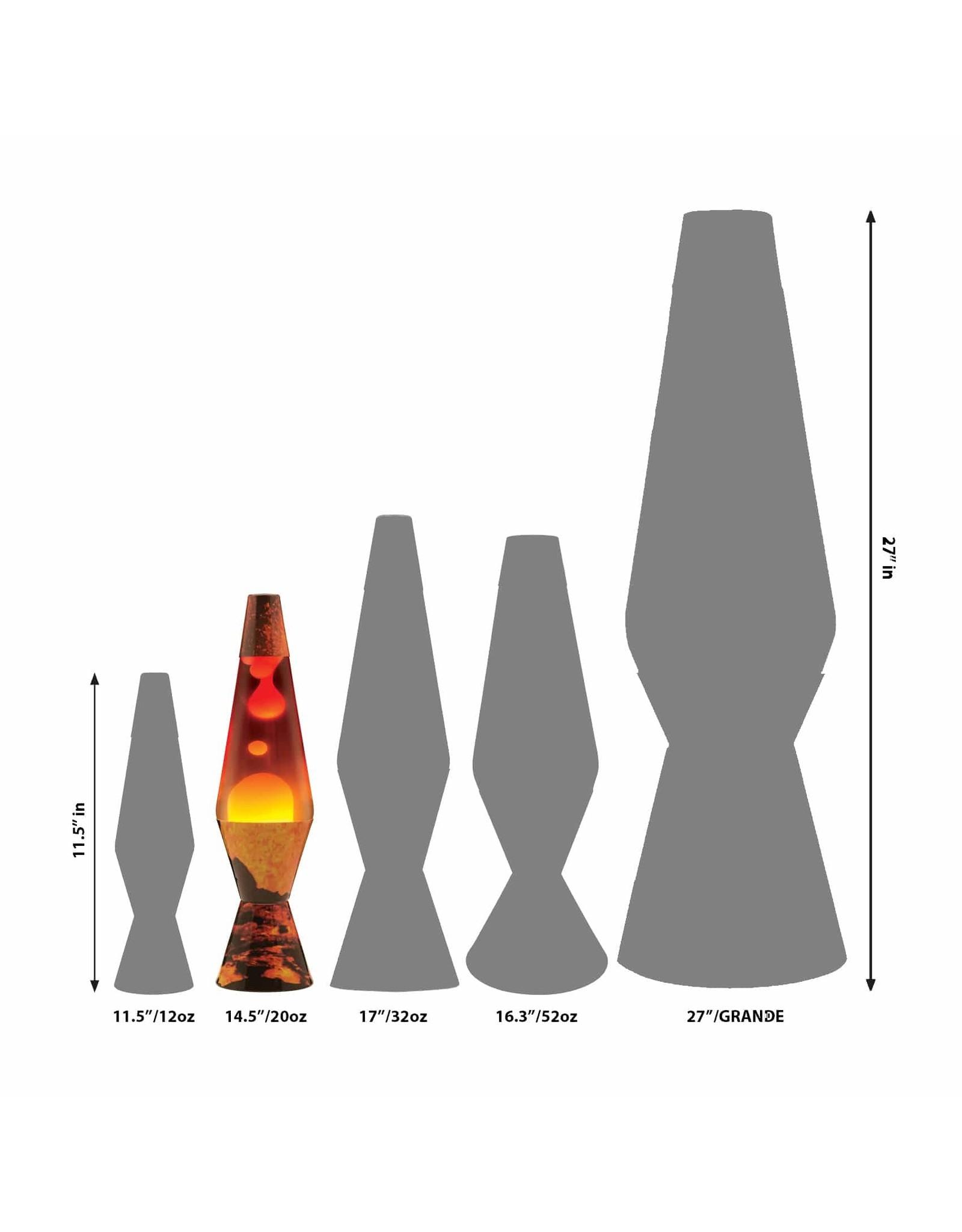 """Lava 14.5"""" Lava Lamp Colormax - Volcano"""