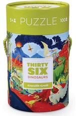 Crocodile Creek 36 Dinosaurs 100pc