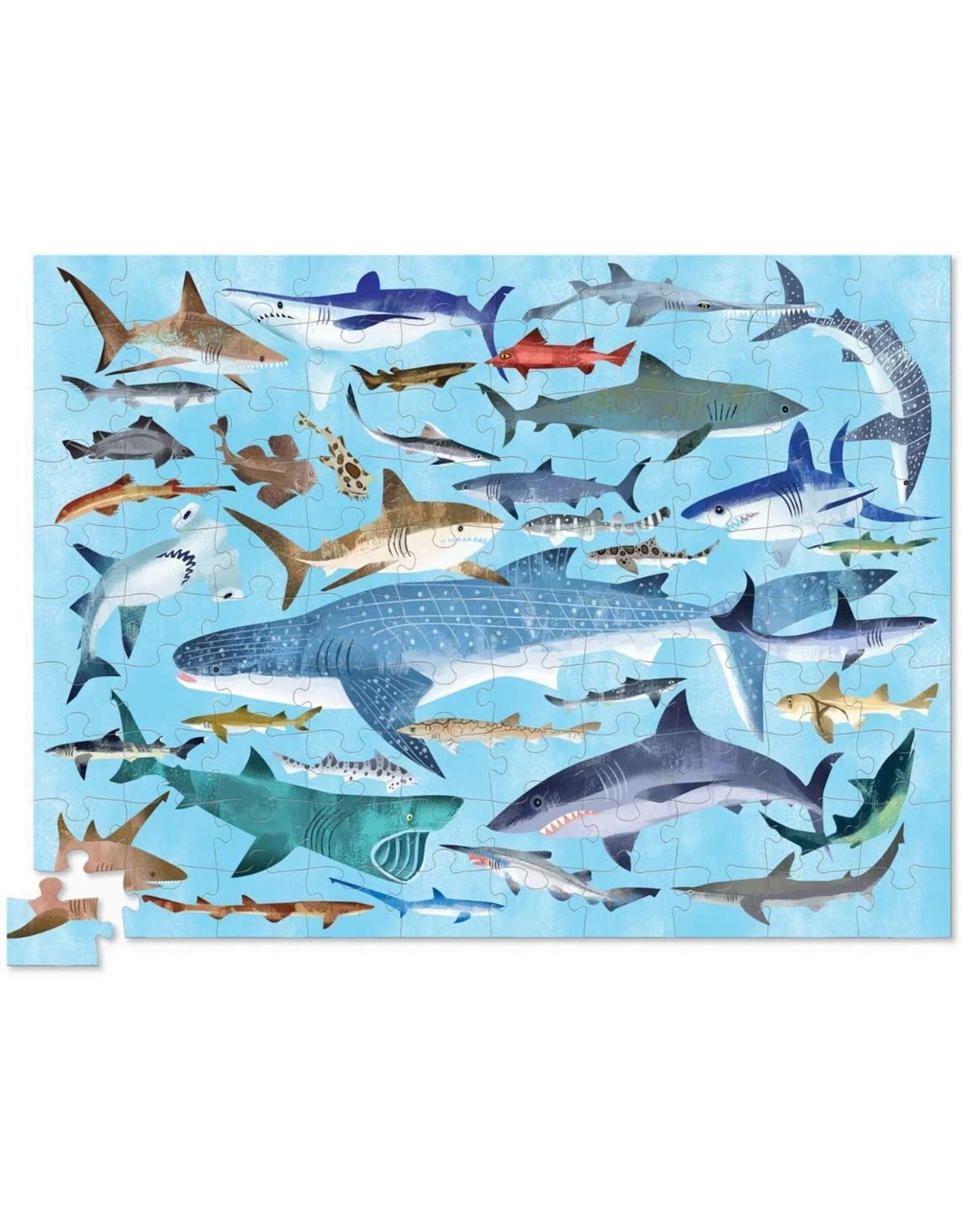 Crocodile Creek 36 Sharks 100pc