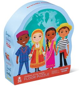 Crocodile Creek Children of the World 36 pc Floor Puzzle