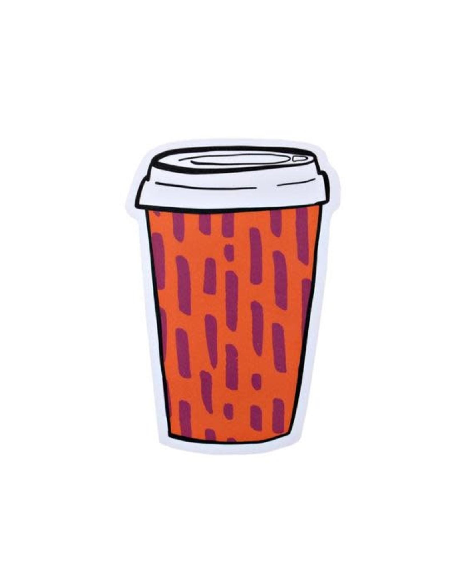Pipsticks Coffee To-Go Vinyl Sticker
