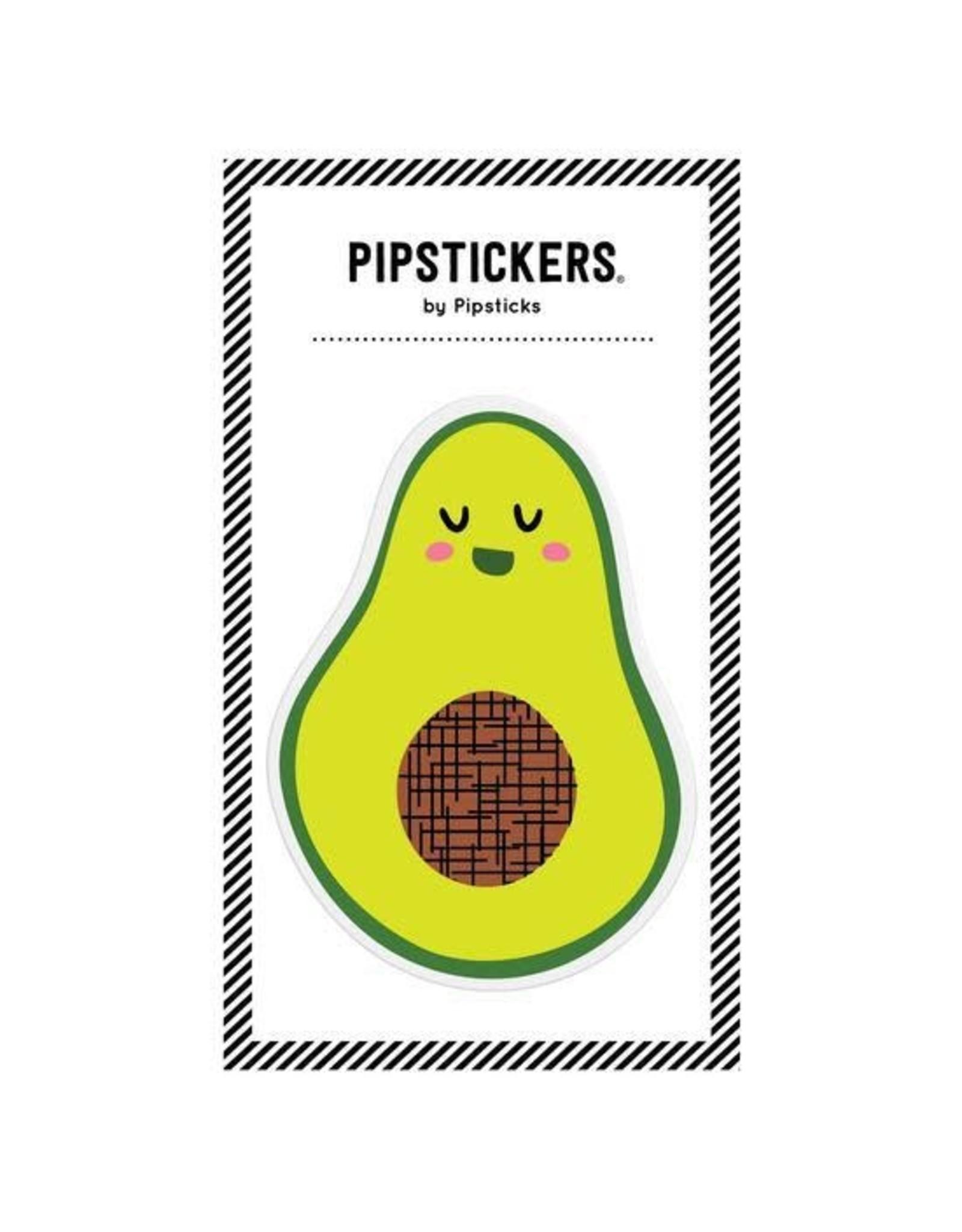 Pipsticks Avocado Vinyl Sticker