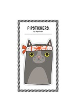 Pipsticks Big Puffy Ninja Cat Sticker
