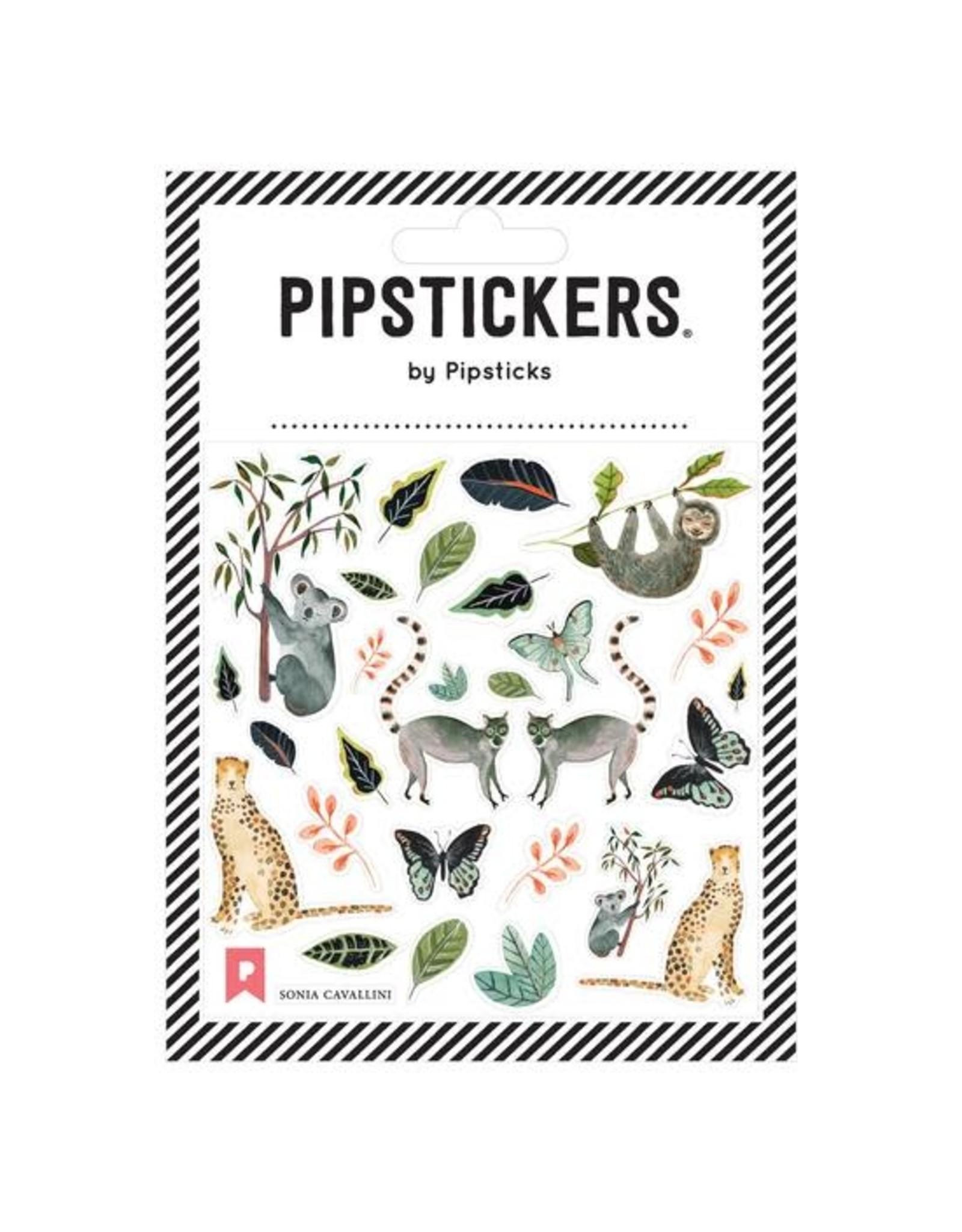 Pipsticks Animals by Sonia Cavallini Stickers