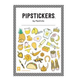 Pipsticks YELLOW There Stickers