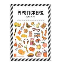 Pipsticks ORANGE You Glad Stickers