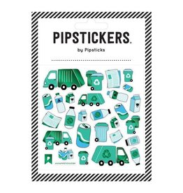 Pipsticks I've Bin Recycled Stickers