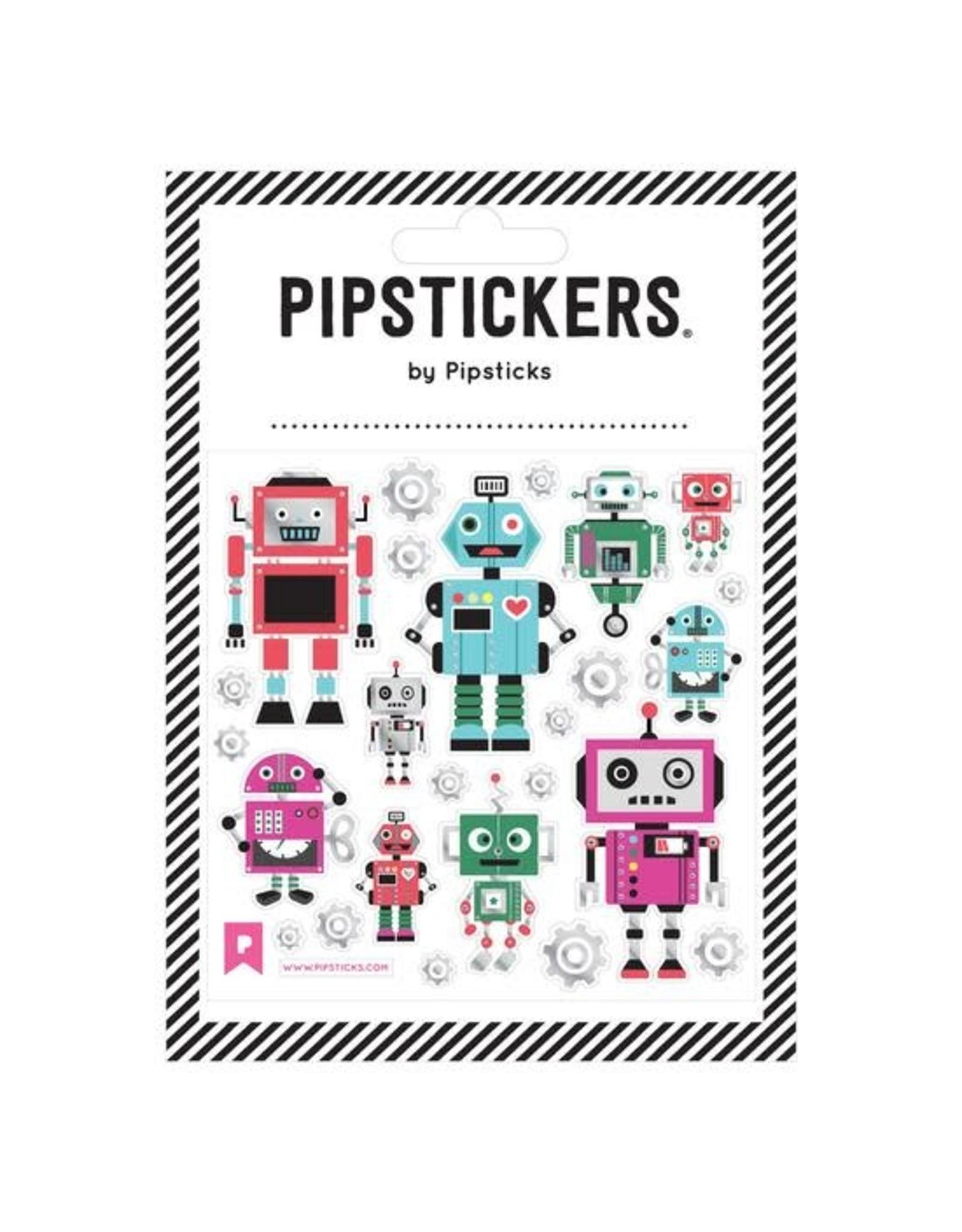 Pipsticks Bots & Bolts Stickers
