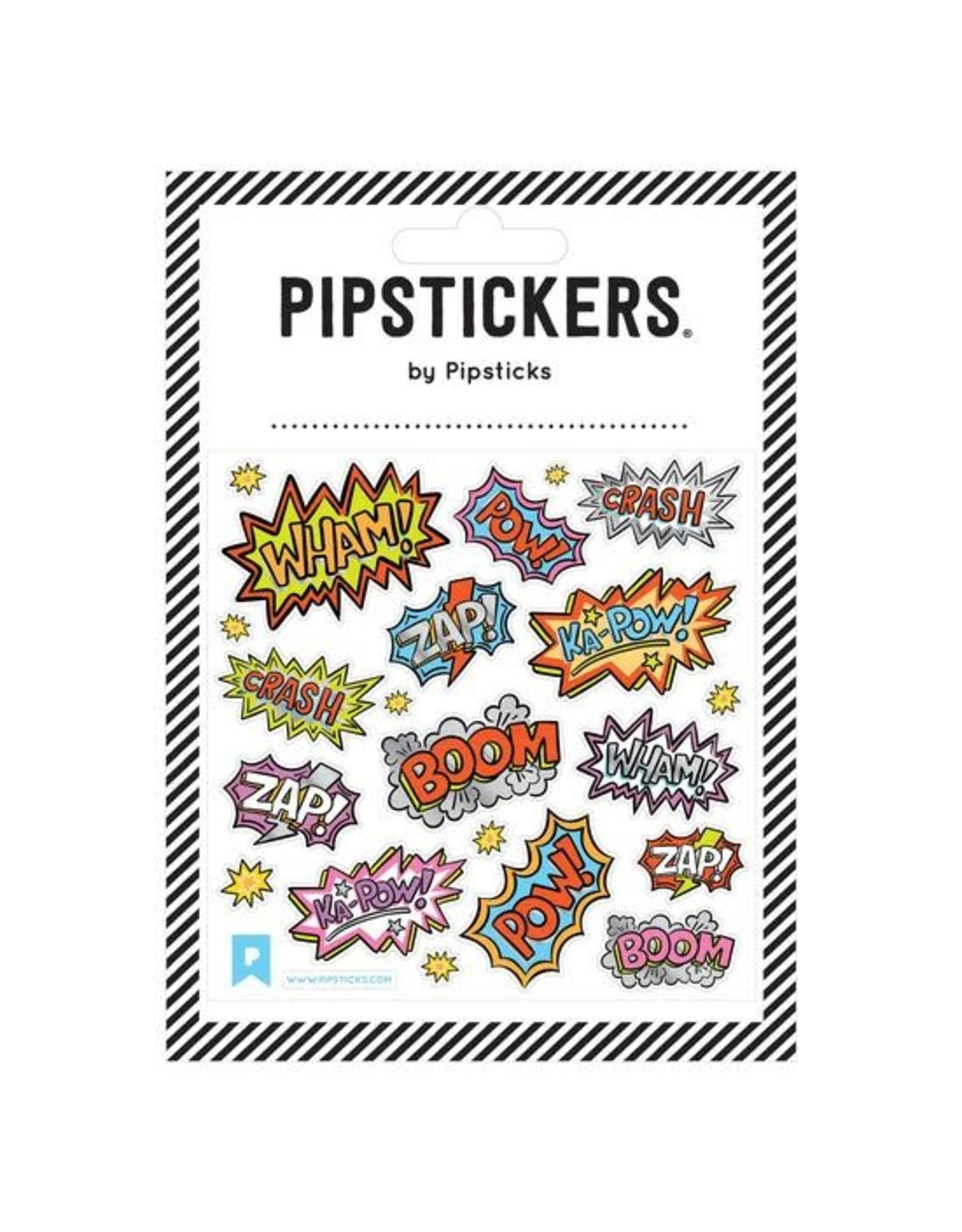 Pipsticks Comic Captions Stickers