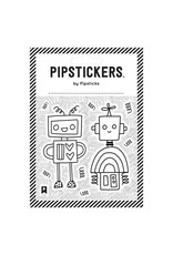 Pipsticks Color-in Robots Stickers