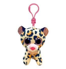 Ty Livvie - Brown & Pink Leopard Clip