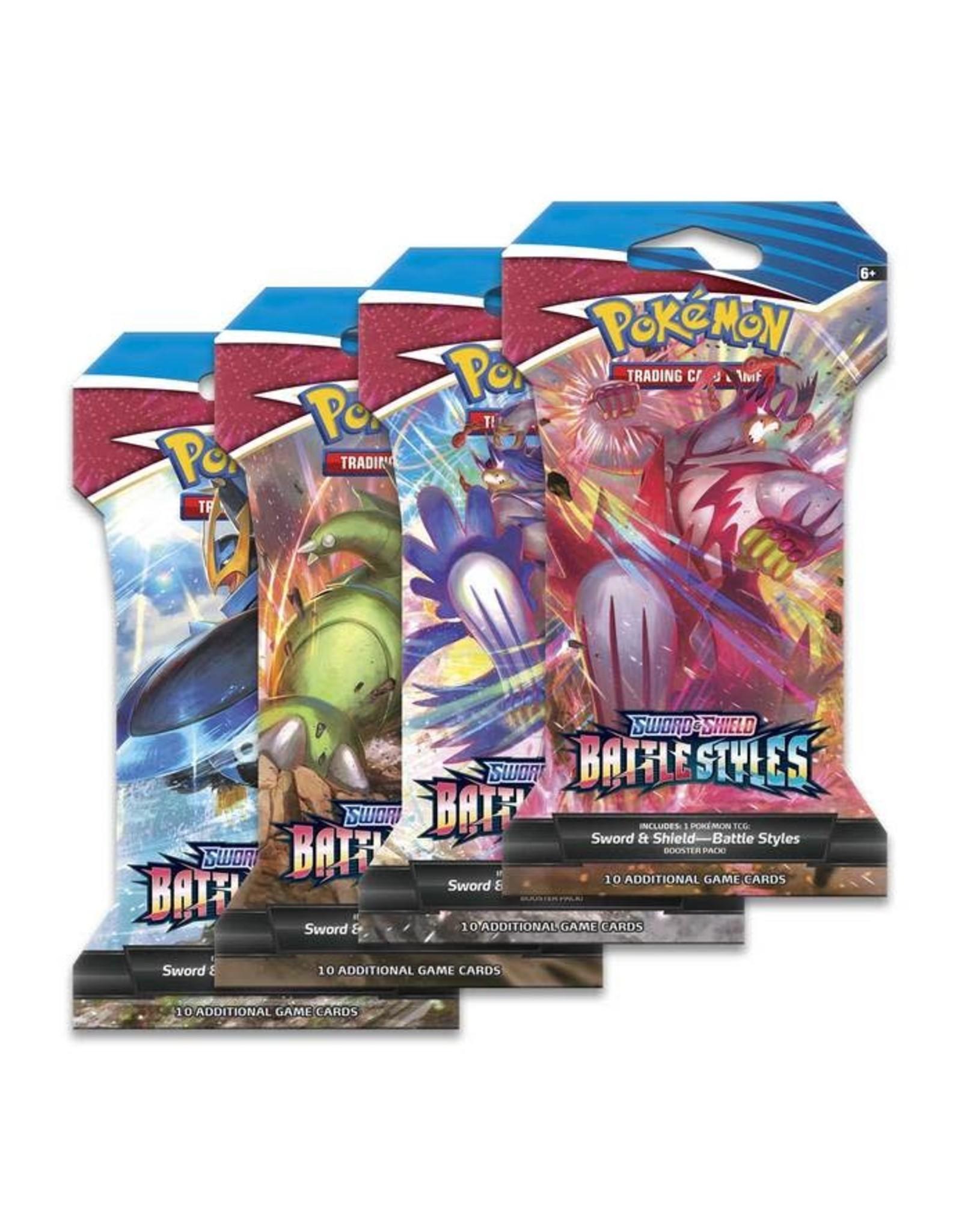 Pokemon Sword & Shield - Battle Styles Booster