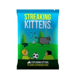 Exploding Kittens Exploding Kittens - Streaking Kittens Expansion