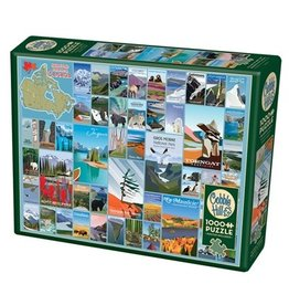 Cobble Hill National Parks and Reserves of Canada 1000 pc
