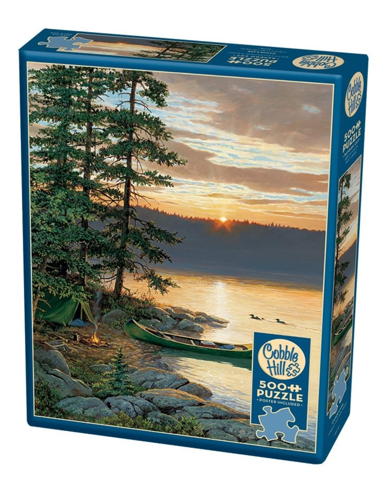 Cobble Hill Canoe Lake 500pc