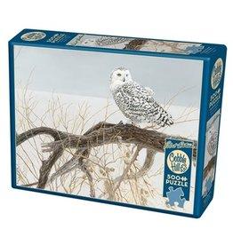 Cobble Hill Fallen Willow Snowy Owl 500 pc
